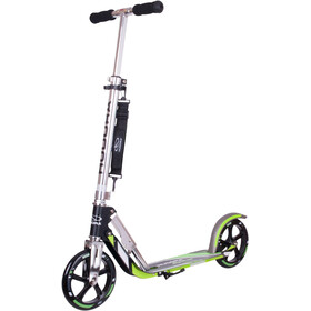 HUDORA Big Wheel Scooter Ciudad Niños, green/silver